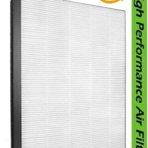 Frenchfil High Performance Compatible HEPA Filter Fit for Philips Model AC 2887/2882 NanoProtect 2000 Series True HEPA Filter